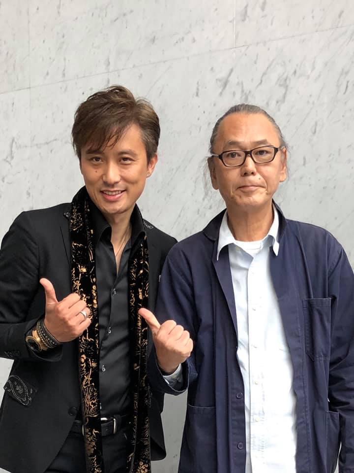 Kenichi Okura with Uchiumi